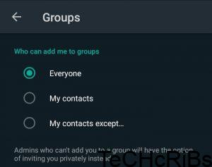 How to Stop Users From Adding You to WhatsApp Groups