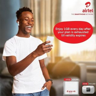 How to get 1gb airtel data for free
